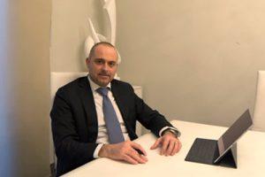 Immagini dell'avvocato Maurizio Manna